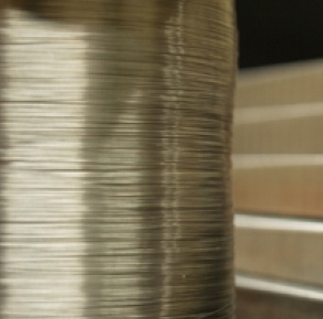 Thin Metal Wire Spool